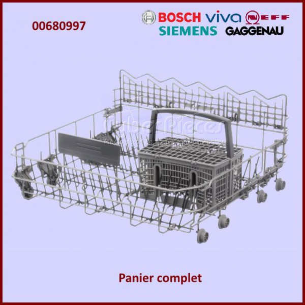 panier inf rieur bosch 00680997 pour lave vaisselle lavage pieces detachees electromenager. Black Bedroom Furniture Sets. Home Design Ideas