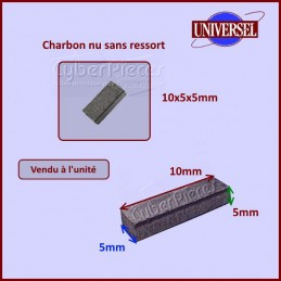 Charbon moteur 10x5x5mm...