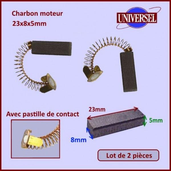 Charbon moteur 23x8x5mm