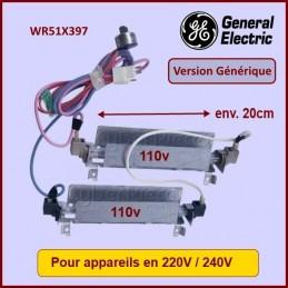 Résistance de dégivrage adaptable GE WR51X397 CYB-095198