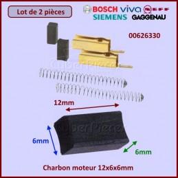 Charbon moteur avec support 12x6x6mm CYB-282857