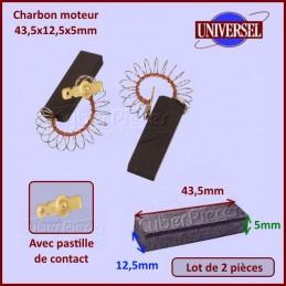 Charbon moteur 42x12,5x5mm Bosch 00605694 CYB-093613