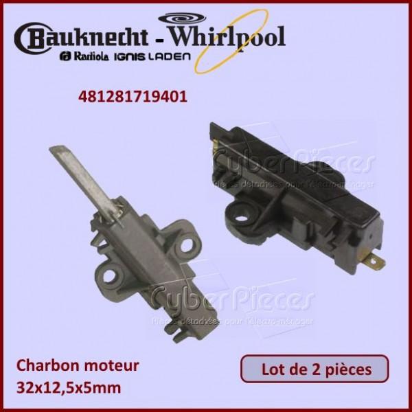 Charbon moteur avec support 32x12,5x5mm