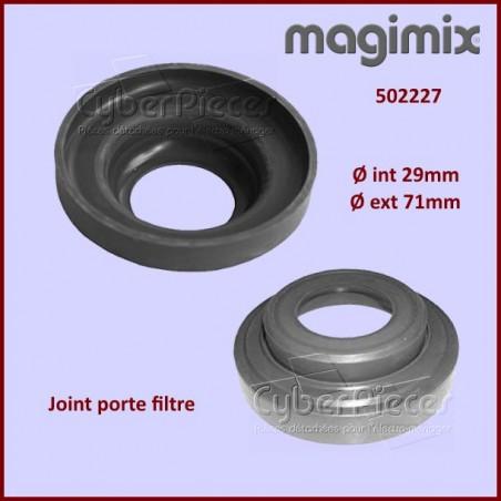 Joint porte filtre cafetière Magimix 502227