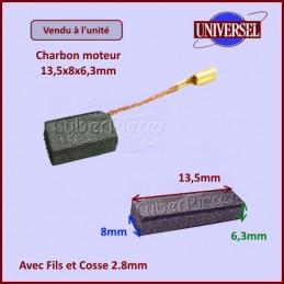 Charbon moteur 13,5x8x6,3mm CYB-032599
