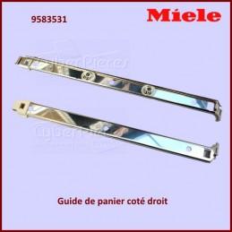 Guide de panier coté droit Miele 9583531 CYB-139335