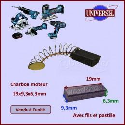 Charbon moteur 19x9,3x6,3mm CYB-036733