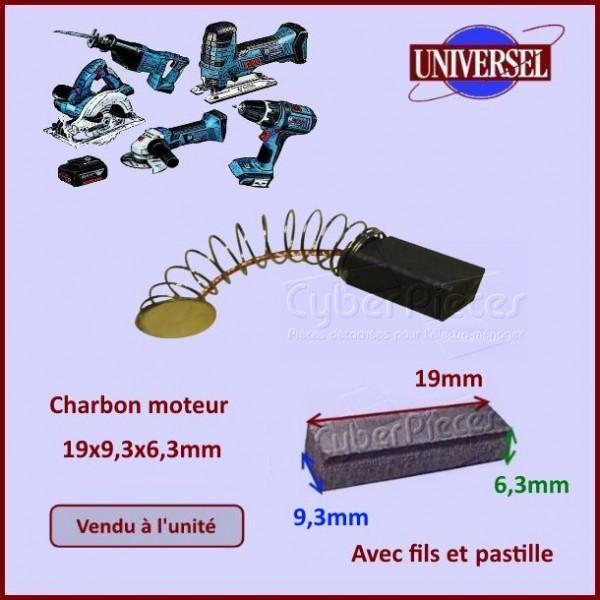 Charbon moteur 19x9,3x6,3mm