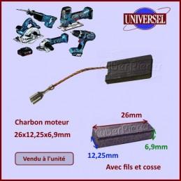 Charbon moteur 26x12,25x6,9mm Hilti CYB-036795