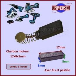 Charbon moteur 16x8x5mm 1617014114 CYB-036719