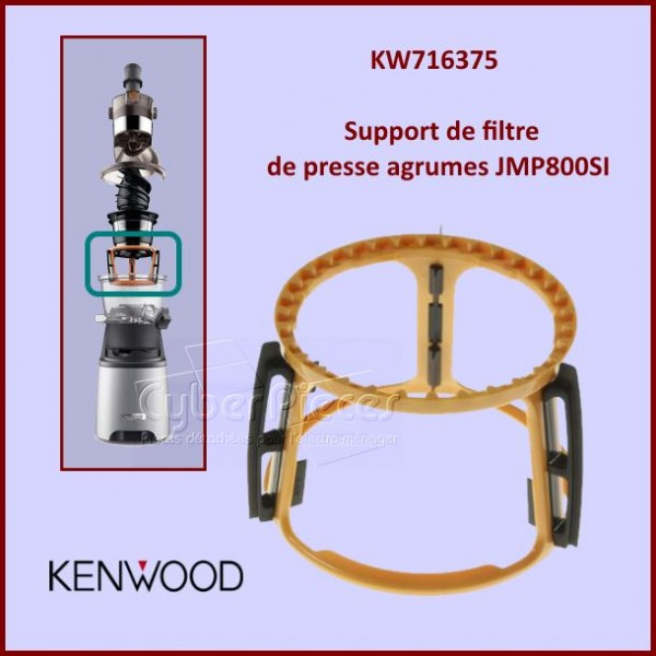 Support de filtre JMP800SI Kenwood KW716375