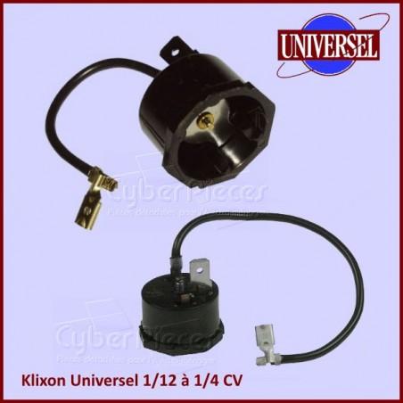 Klixon Universel 1/12 à 1/4CV compresseur