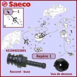 Raccord Silicone SAECO 421944022891 CYB-406543