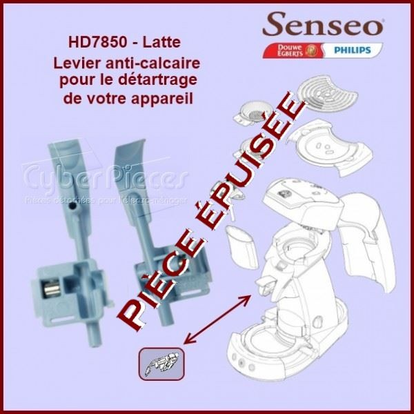 Levier anti calcaire Senseo HD7850 - 422225942310***Pièce épuisée***