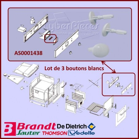 Bouton programmateur AS0001438