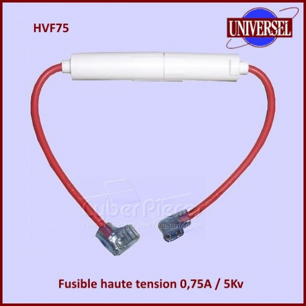 Fusible haute tension 0.75 A