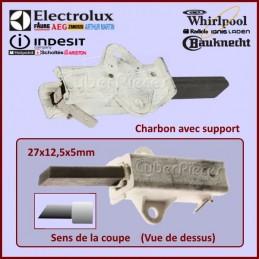 Charbon moteur avec support...