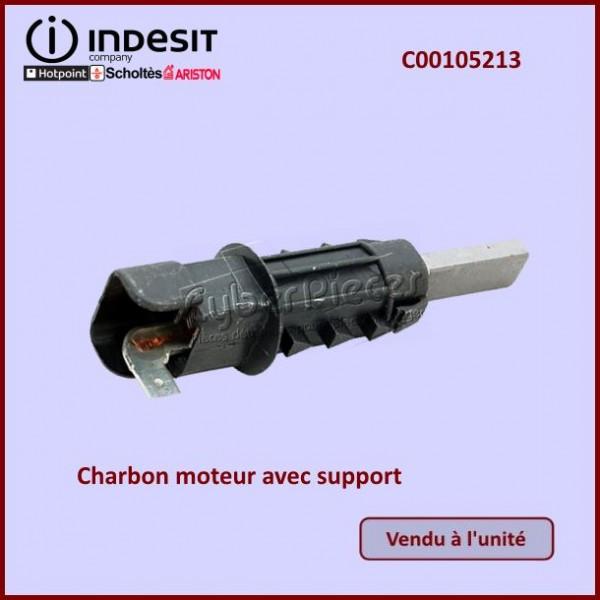 Charbon moteur avec support 9,5x4mm Indesit C00105213