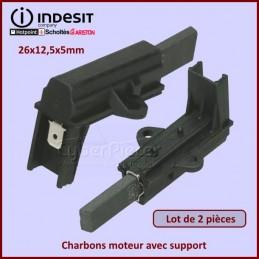 Charbon moteur avec support 26x12,5x5mm CYB-008716