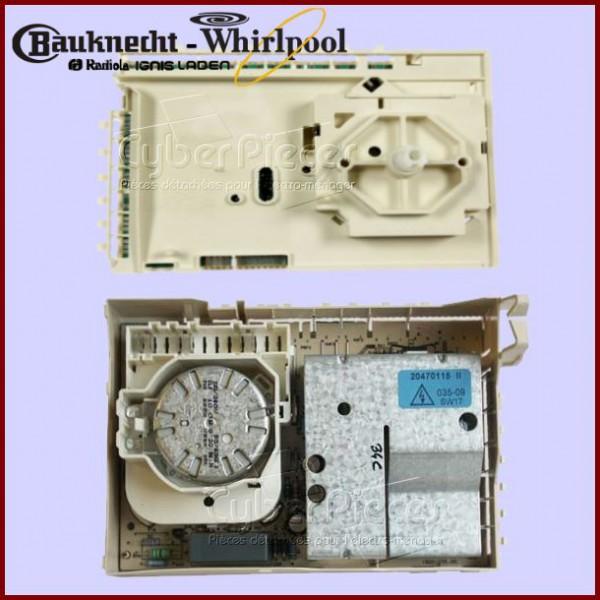 programmateur alpha whirlpool 481228210215 pour machine a. Black Bedroom Furniture Sets. Home Design Ideas