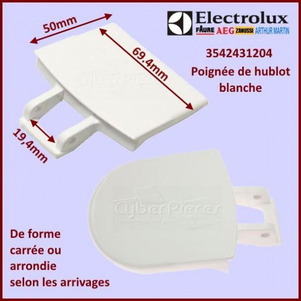 Poignée De Hublot Blanche Electrolux 3542431204