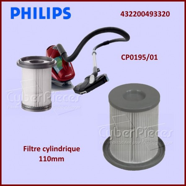 Filtre cylindrique 110mm CP0195/01