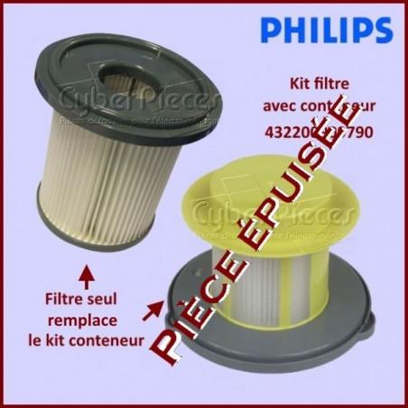 Kit filtre service + conteneur Philips 432200909790 ***Pièce épuisée***