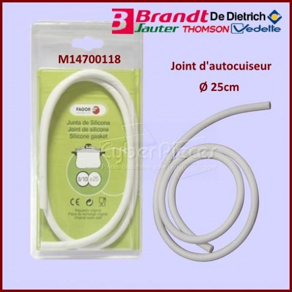 Joint autocuiseur Brandt M14700118 - Ø25cm