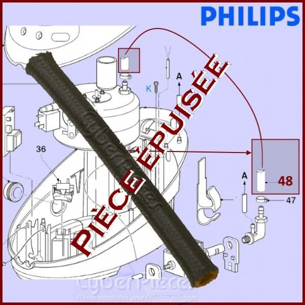 Tuyau Noir  Pompe - Cuve 423901555510***Pièce épuisée***
