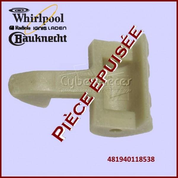 Crochet de poignée de hublot Whirlpool 481940118538***Pièce épuisée***