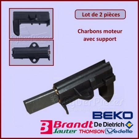 Charbon moteur avec support  25x12,5x5mm / L1-5