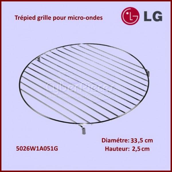tr pied hauteur 2 5cm grille support inox 33 5cm pour micro ondes cuisson pieces detachees. Black Bedroom Furniture Sets. Home Design Ideas