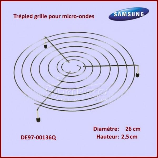 Trépied Hauteur 2,5cm - Grille Support Inox Ø26cm