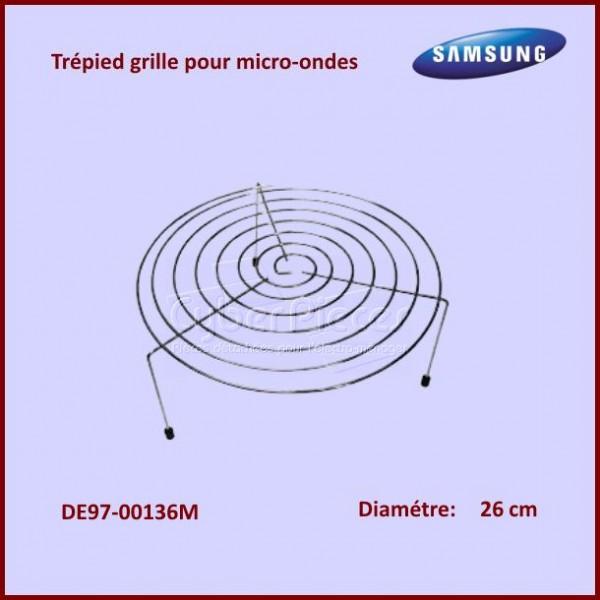 Trépied Grande Hauteur - Grille Support Inox Ø26cm