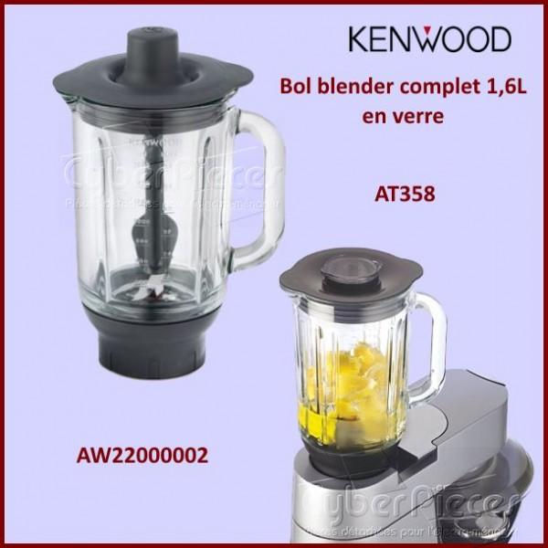 Bol blender en verre AT358  Kenwood AW22000002