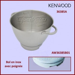 Bol en inox 36385A avec poignée Kenwood Chef AW36385B01 CYB-356756