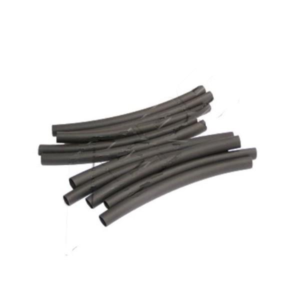 10 Manchons thermorétractables noirs