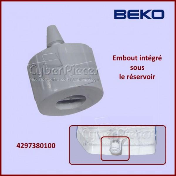 Bouchon intégré plastique Beko 4297380100
