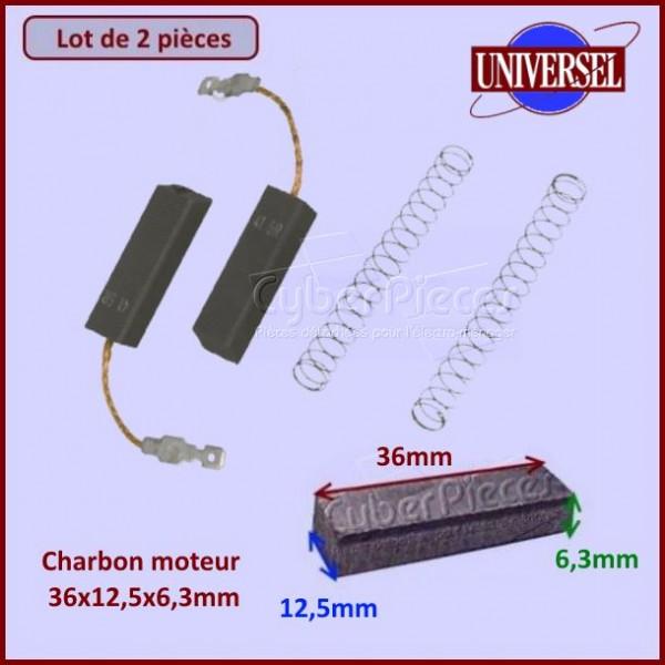 Charbon moteur 36x12,5x6,3mm