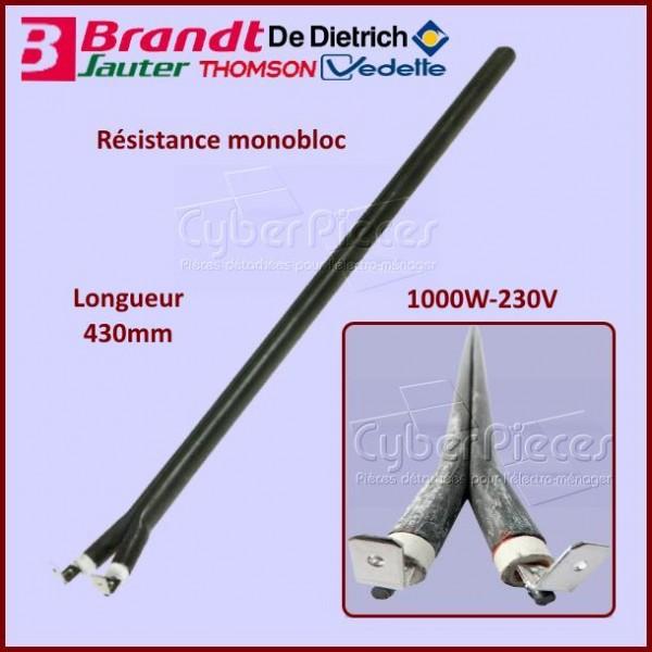 Resistance Monobloc 1000W-230V 282019CCP
