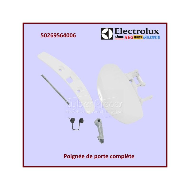 Poignée complète de porte Electrolux 50269564006