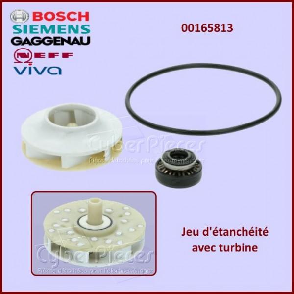 Jeu d'étanchéité + turbine Bosch 00165813