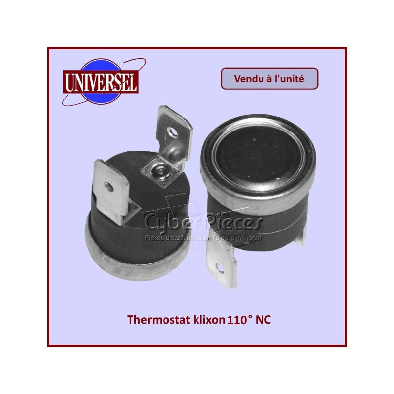 Thermostat klixon 110° NC