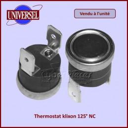 Thermostat klixon 125° NC