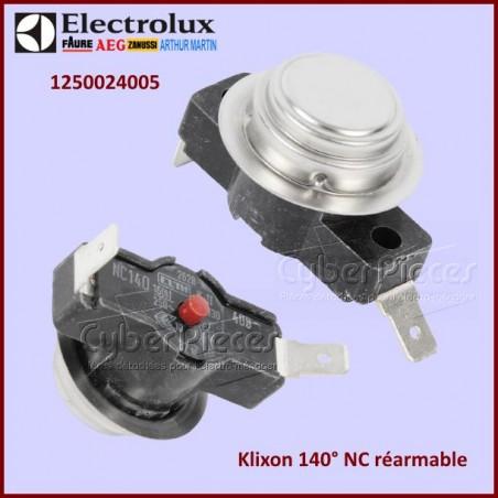 Thermostat klixon 140° NC réarmable 1250024005
