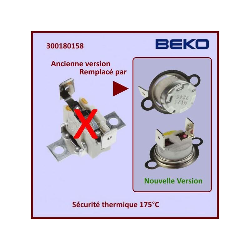 Sécurité thermique 175°C BFC54 Beko 300180158