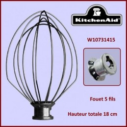 Fouet 5 Fils KitchenAid W10731415 CYB-351416