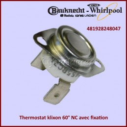 Thermostat klixon 60° NC...