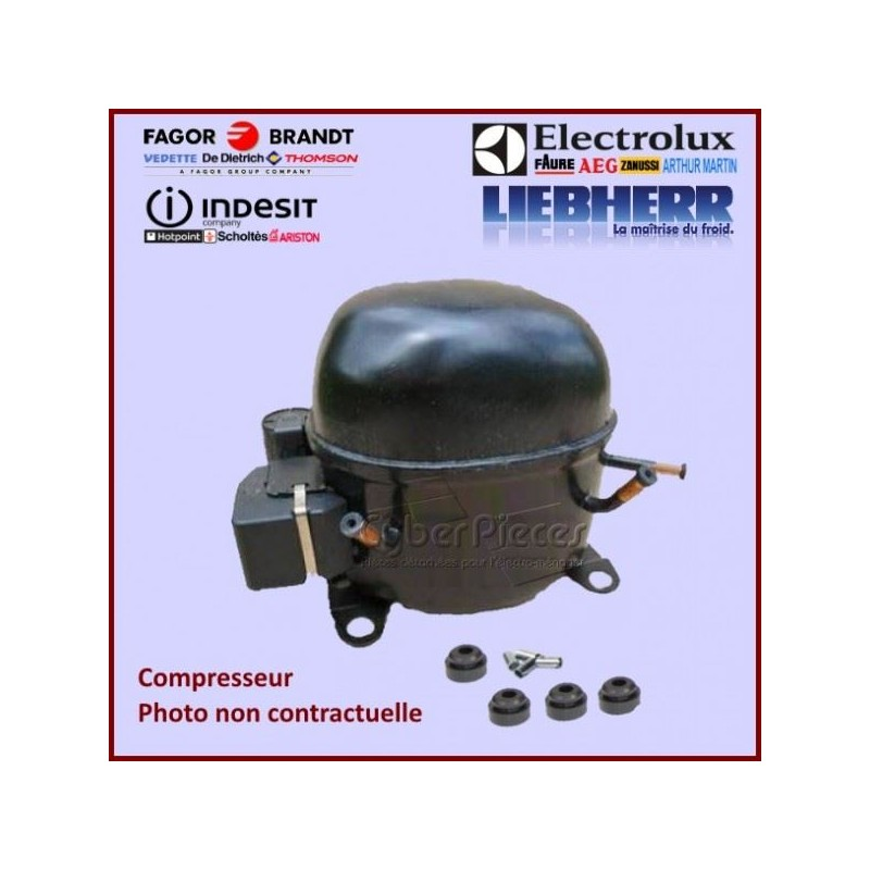 Compresseur HMK12AA Gaz R600A 1/4CV SANS RH