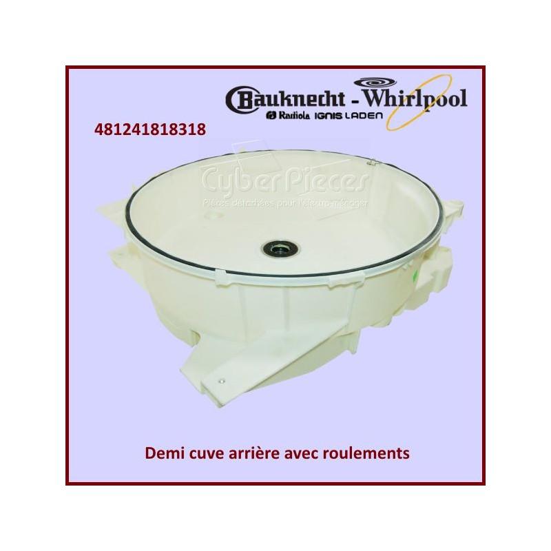 Demi-cuve arrière Whirlpool 481241818318